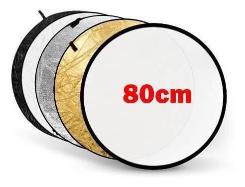 Rebotador de fotografia camara fotografica 5 En 1 de 80 Cm
