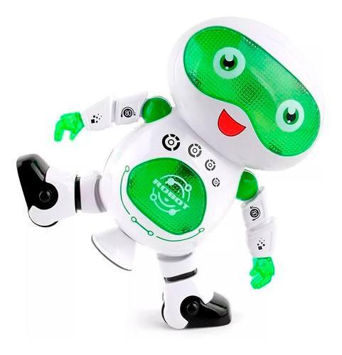 Robot bailarin educativo con luces y musica, juguete ninos