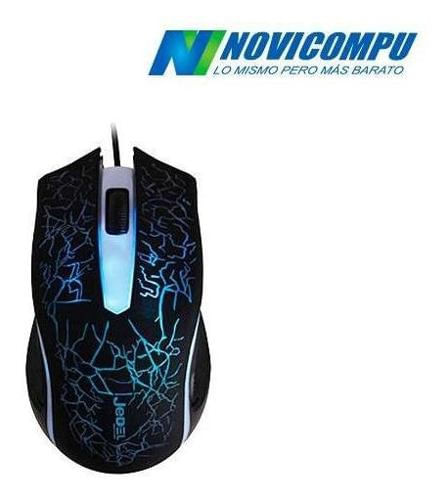 MOUSE GAMER JEDEL M68  LUCES LED, ERGON?MICO, CAMBIA DE COLOR