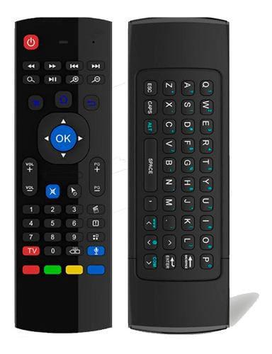 TECLADO INALAMBRICO AIR MOUSE PARA SMART TV MX3