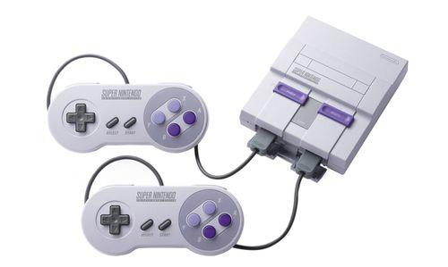 Consola en forma de Super Nintendo, 400 juegos, 2 palancas