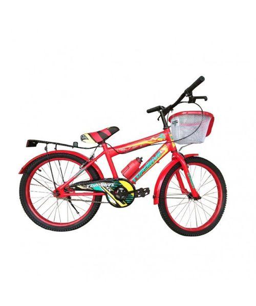 Bicicleta ONE Aro 20 Aluminio Bmx, Botella y canasta gratis