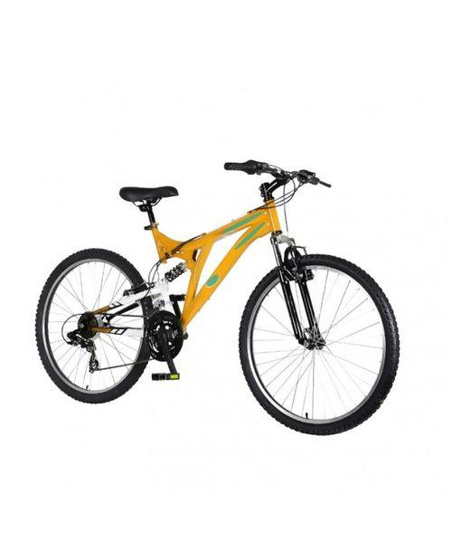 Bicicleta doble suspensión partes shimano TX30 aro 26
