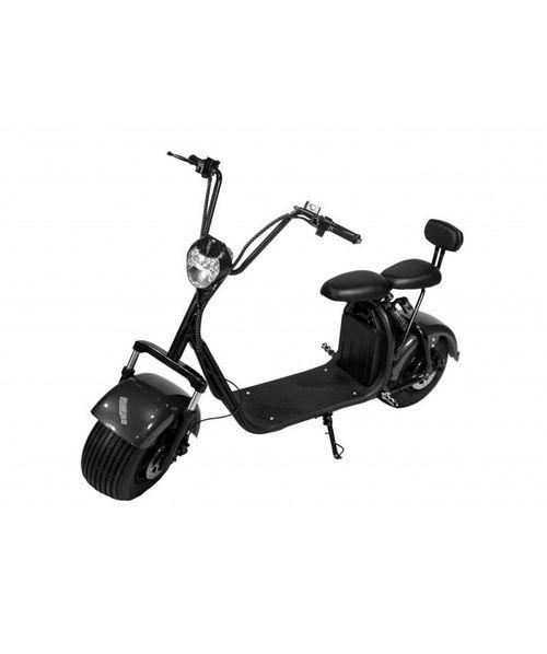 Scooter moto Eléctrico doble asiento, doble freno, 1000w