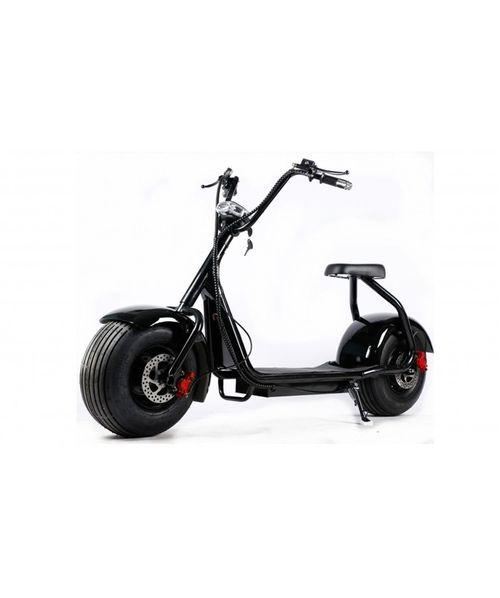 Scooter moto Eléctrico, suspensión, doble freno, 1000w