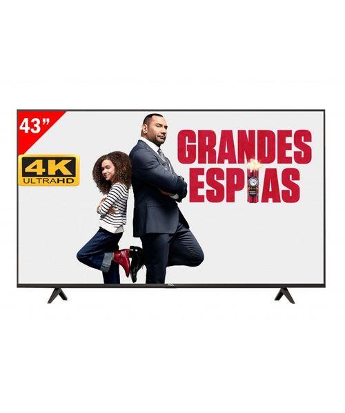 """TELEVISOR TCL 43"""" 43P615 FULL HD 4K 7T10926"""