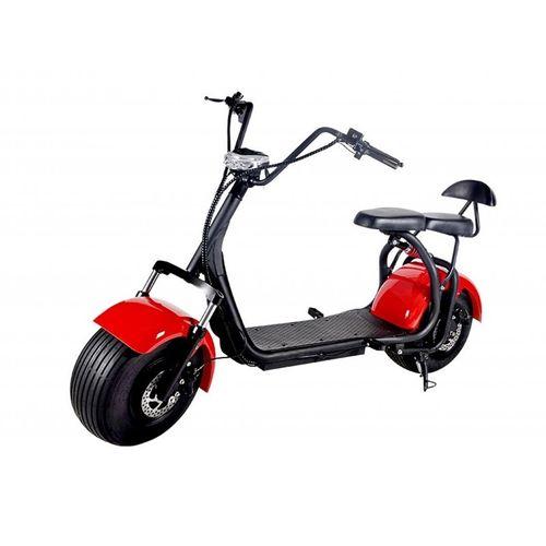 Scooter eléctrico 1000w doble asiento clásica