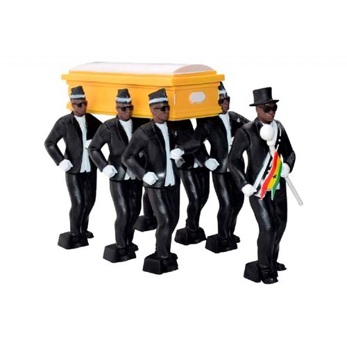 Juguete coleccionable, carried the coffin