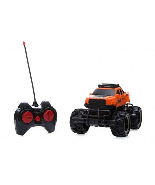 Carro a control remoto monster 4x4 con parachoques