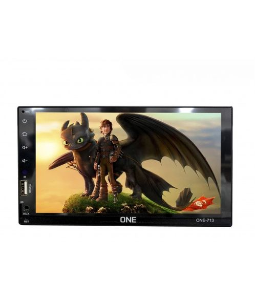 RADIO ONE SUNPLUS, 7.2PULG FULL TOUCH, MP5, BT, LINK CON APPLE Y ANDROID, RADIO