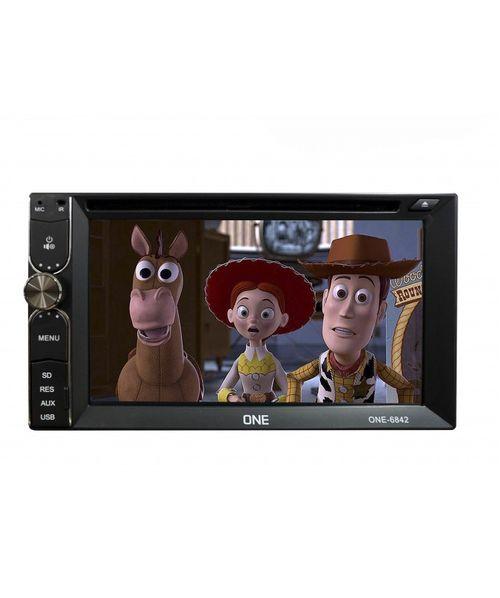 RADIO ONE SUNPLUS DVD 6.2PULG, BT, TV, RADIO, LINK APPLE ANDROID